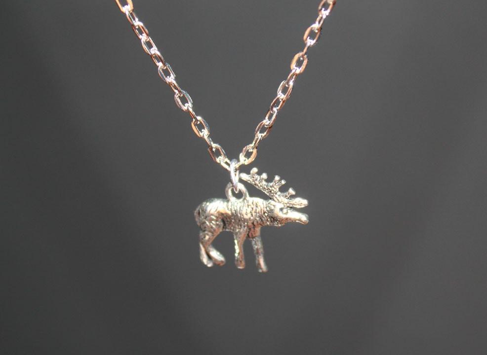 Moose pendant claudia jewelry news story shopping cart aloadofball Images